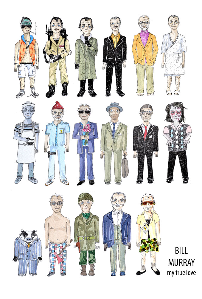 bill murray poster